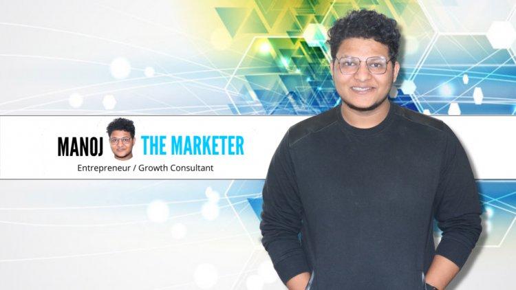 A young and inspiring businessman: Manoj Tiwatne
